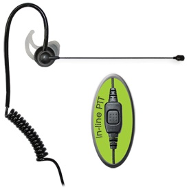Featherweight single sided headset