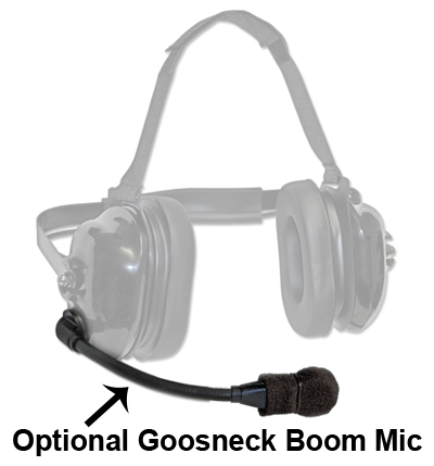TITAN - flexboom Radio Headset for Vertex VX-900